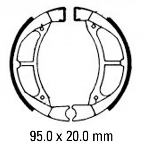 458x458 Brake Shoes Frontrear Fsb764