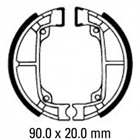458x458 Brake Shoes Frontrear Fsb792