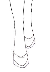 210x303 Draw Front View Of Shoes I Draw Fashion