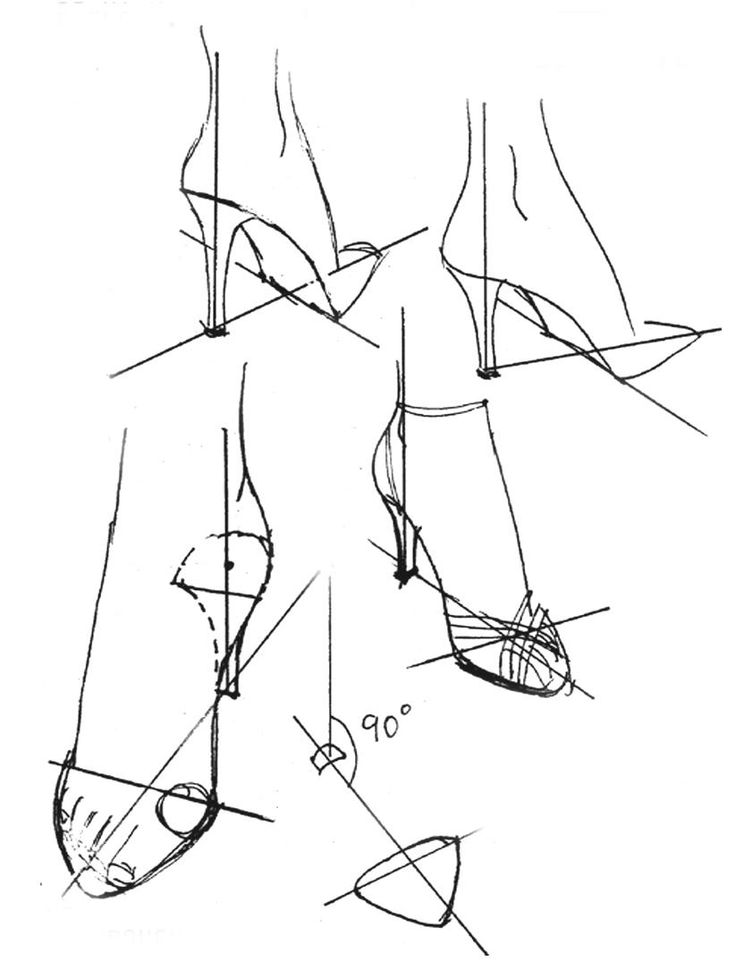 842x1094 Drawing High Heels Justine Limpus Parish's Blog