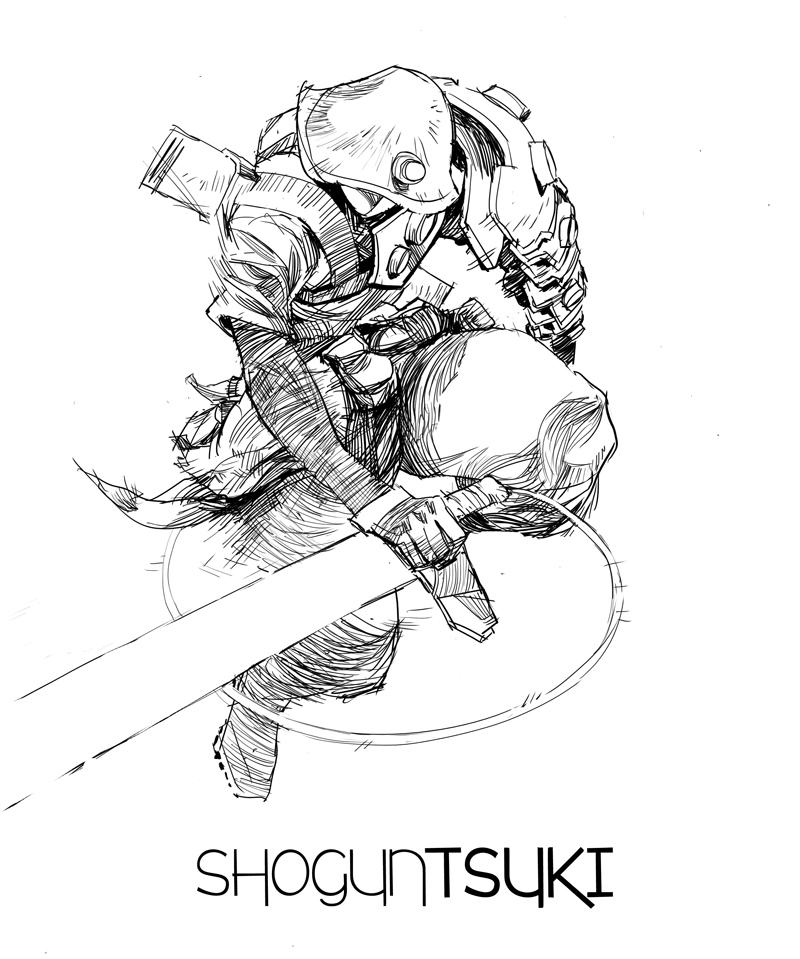 shogun drawing at getdrawings com