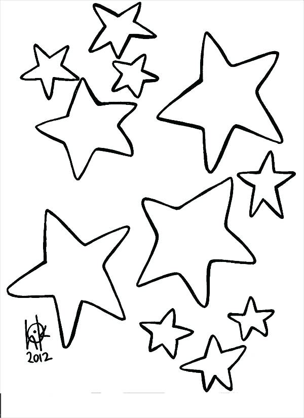 600x825 Awesome Shooting Star Coloring Pages Image