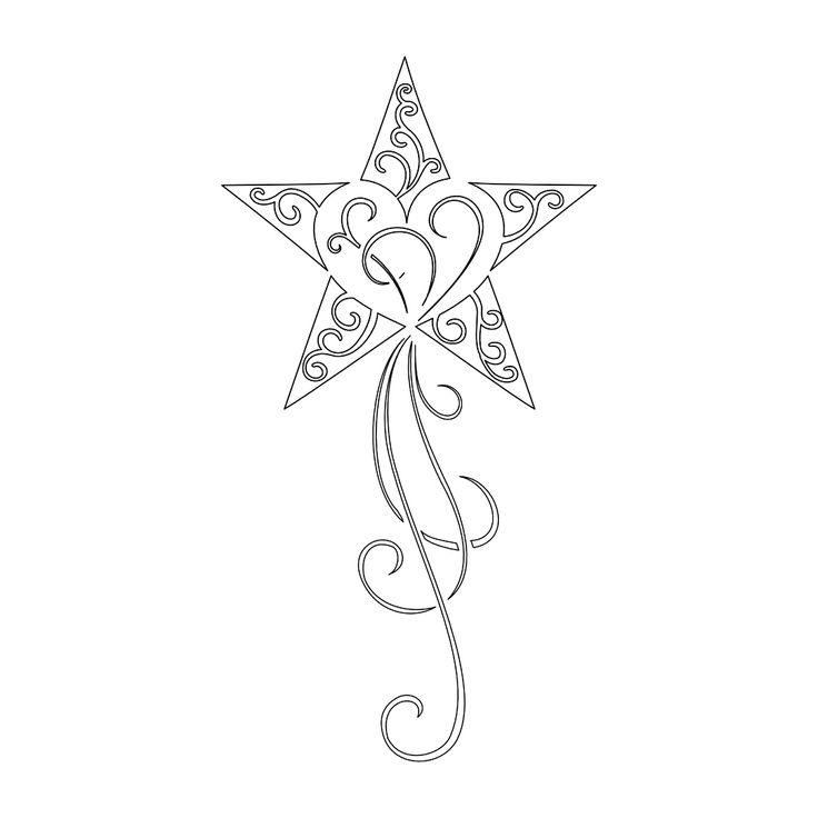 736x736 Shooting Star Tattoo Future Tattoos Memorial Tattoo Ideas Heart