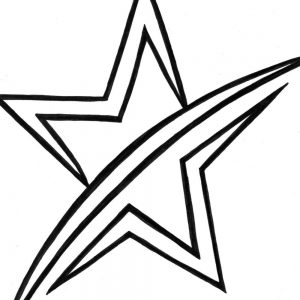 300x300 Coloring Pages Shooting Stars Fresh Shooting Star Coloring Pages