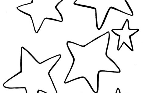 469x304 Printable Shooting Star Coloring Pages For Girls To Humorous Draw
