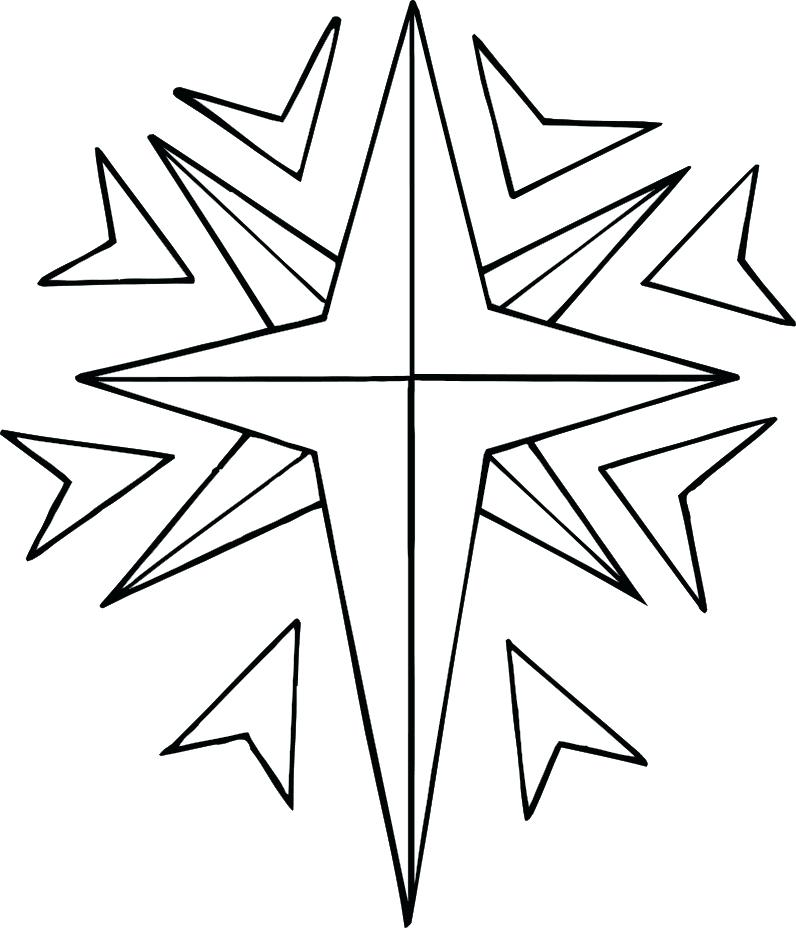 796x928 Printable Star Coloring Pages Star Color Pages Shooting Star