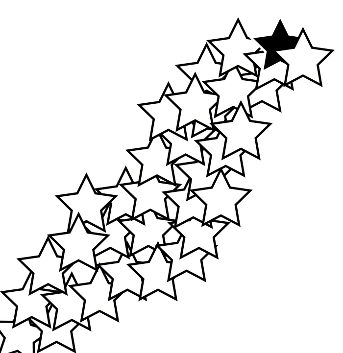 700x721 Shooting Star Graphic
