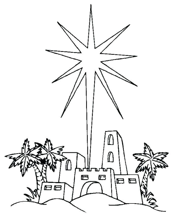673x860 Shooting Star Coloring Page