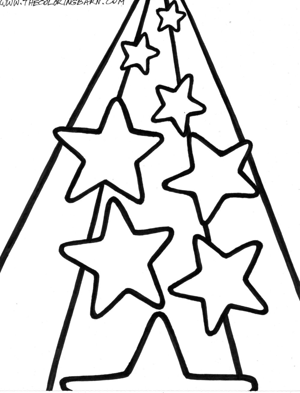 1000x1310 Stars Coloring Pages