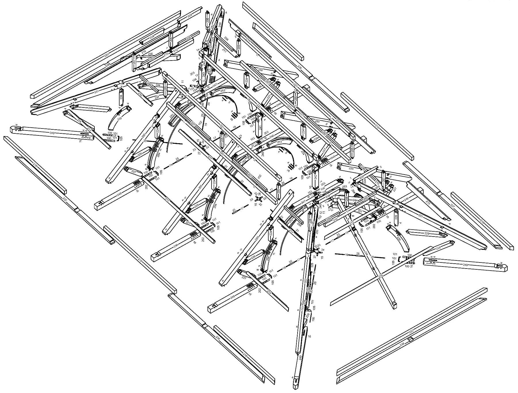 1800x1364 Hamanasi Resort Timber Frame Handcrafted Wood Beams