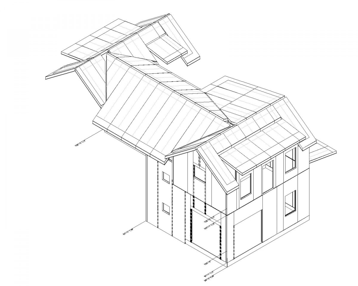 1200x960 Sip Shop Drawings Designed By Evstudio Structural Department