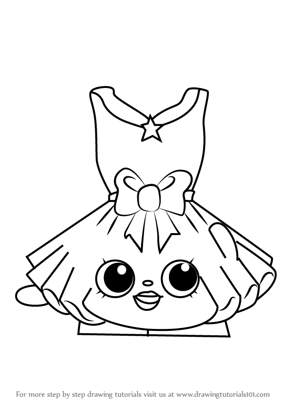Good 596x843 Step By Step How To Draw Tutucute From Shopkins