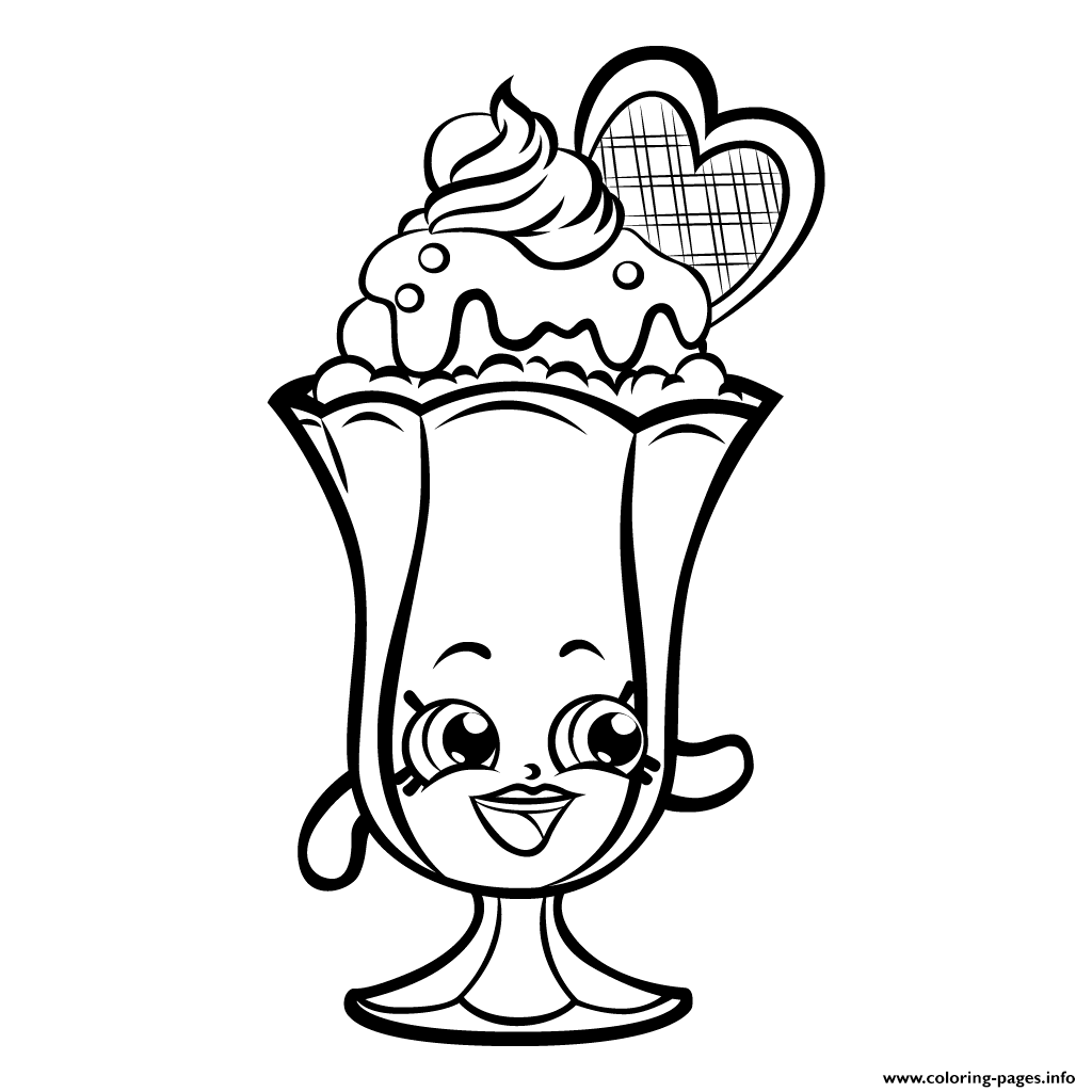 1024x1024 Tiara Shopkins Coloring Page Free Shopkins Coloring