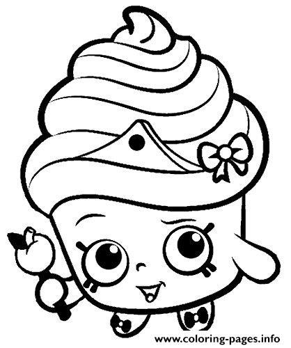 418x500 Print Shopkins For Kids Coloring Pages Shopk Pinterest