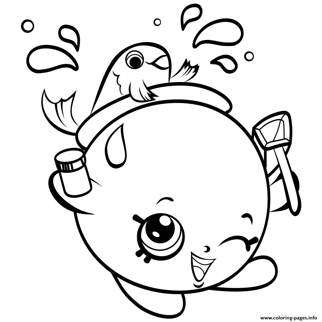 1024x1024 Print Fishbowl Shopkins Season 4 Coloring Pages Coloring 3
