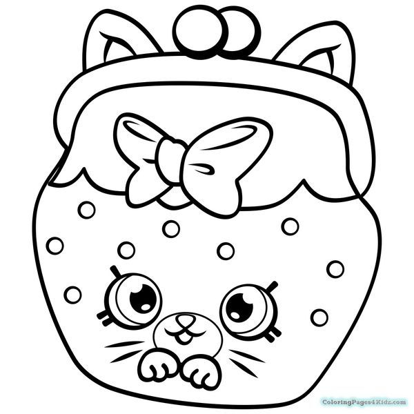 600x600 Shopkins Season 4 Coloring Pages 1012 Coloring Page Kids