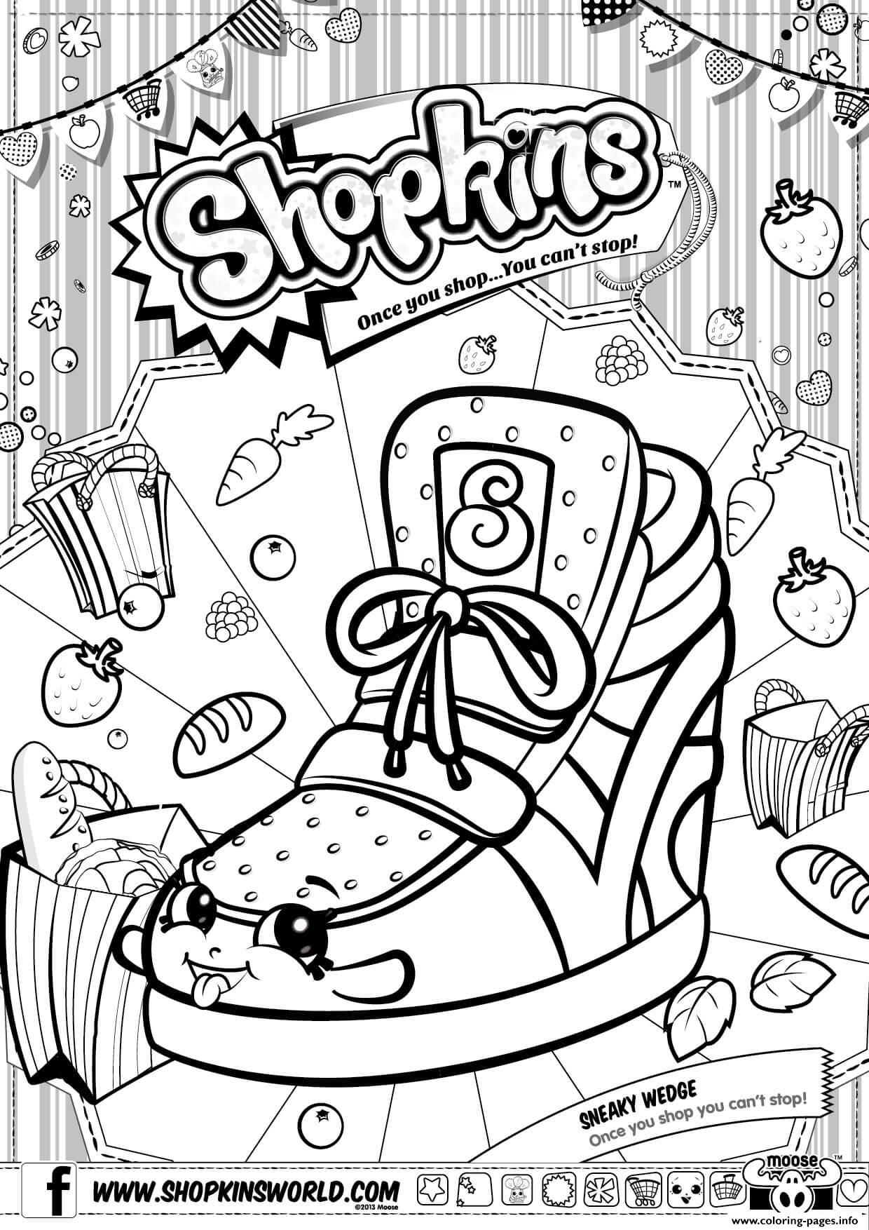 1240x1754 Shopkins Season Coloring Pages Preschool To Amusing Draw Paint