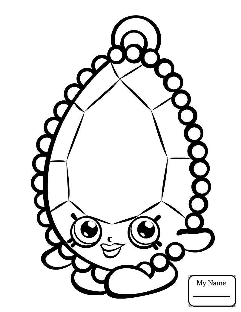 807x1044 Coloring Pages For Kids Toys And Dolls Secret Sally Shopkin