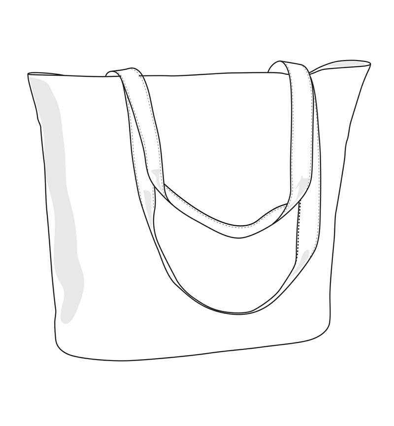 800x866 Shopping Beach Bag