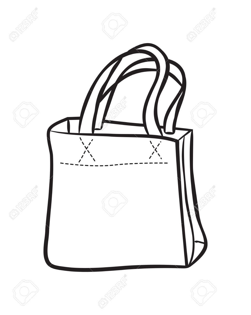 1038x1300 Shopping Bag Doodle Royalty Free Cliparts, Vectors, And Stock