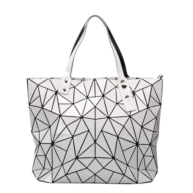 800x800 Spring Pu Brand Girls Ladies Big Bag Issey Miyake 2017 New