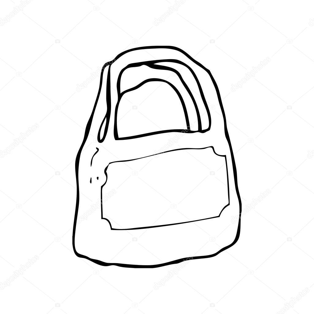 1024x1024 Shopping Bag Stock Vector Lineartestpilot