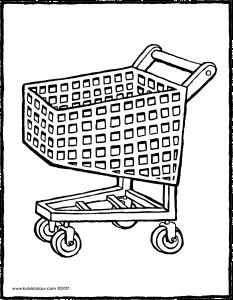 233x300 Shopping Trolley