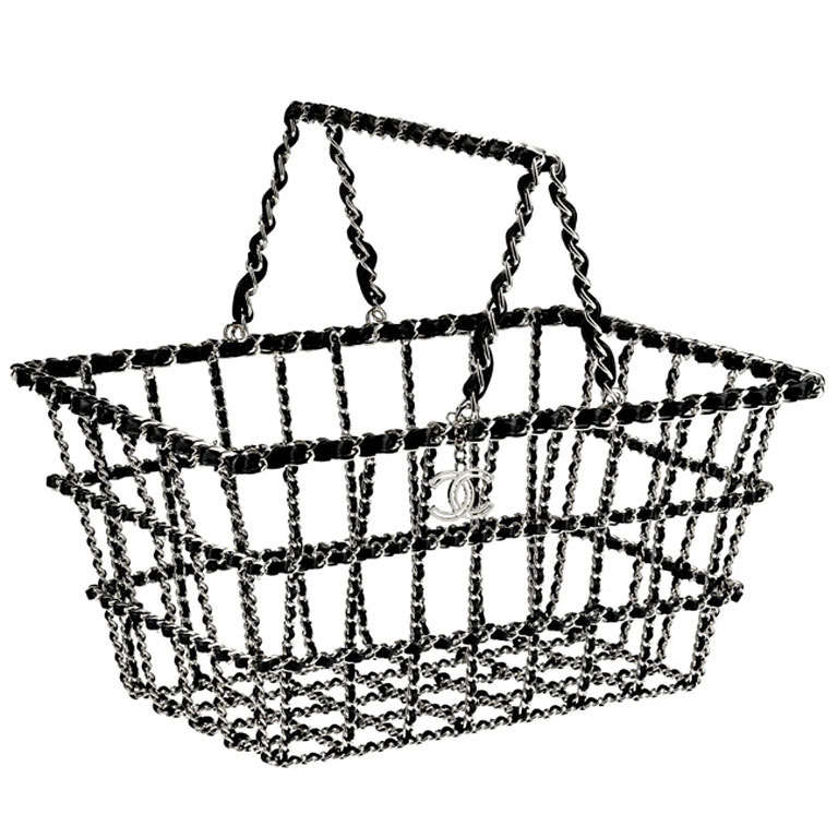 768x768 Chanel Bag Shopping Cart Basket Runway 20142015 Limited Edition