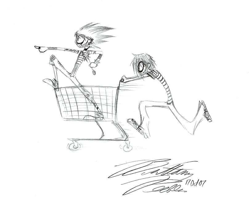 808x639 Shopping Cart Race By Maszeattack