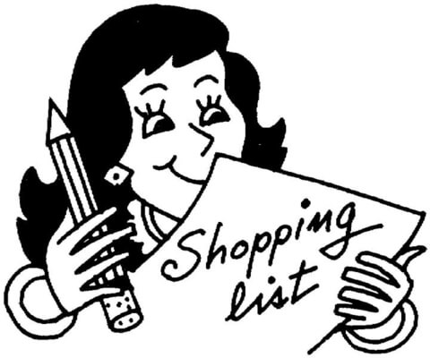 480x400 Shopping List Coloring Page Free Printable Coloring Pages