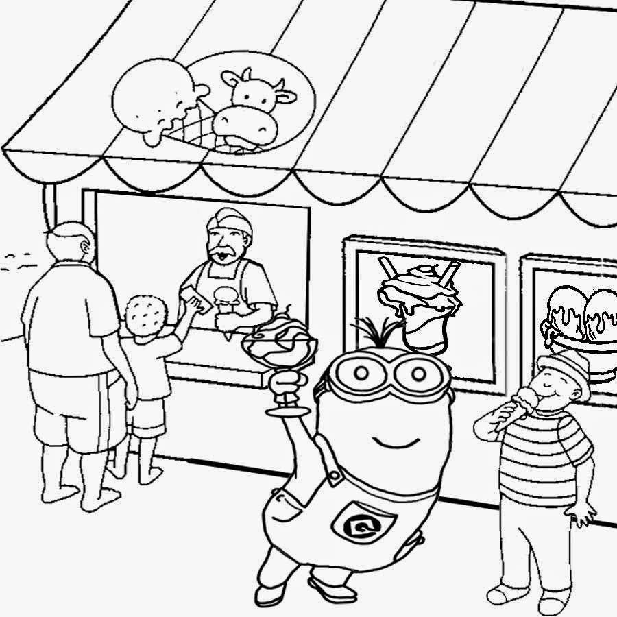 shops coloring pages - photo#12