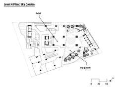 236x182 Shopping Mall Floor Plan Presentation Boards