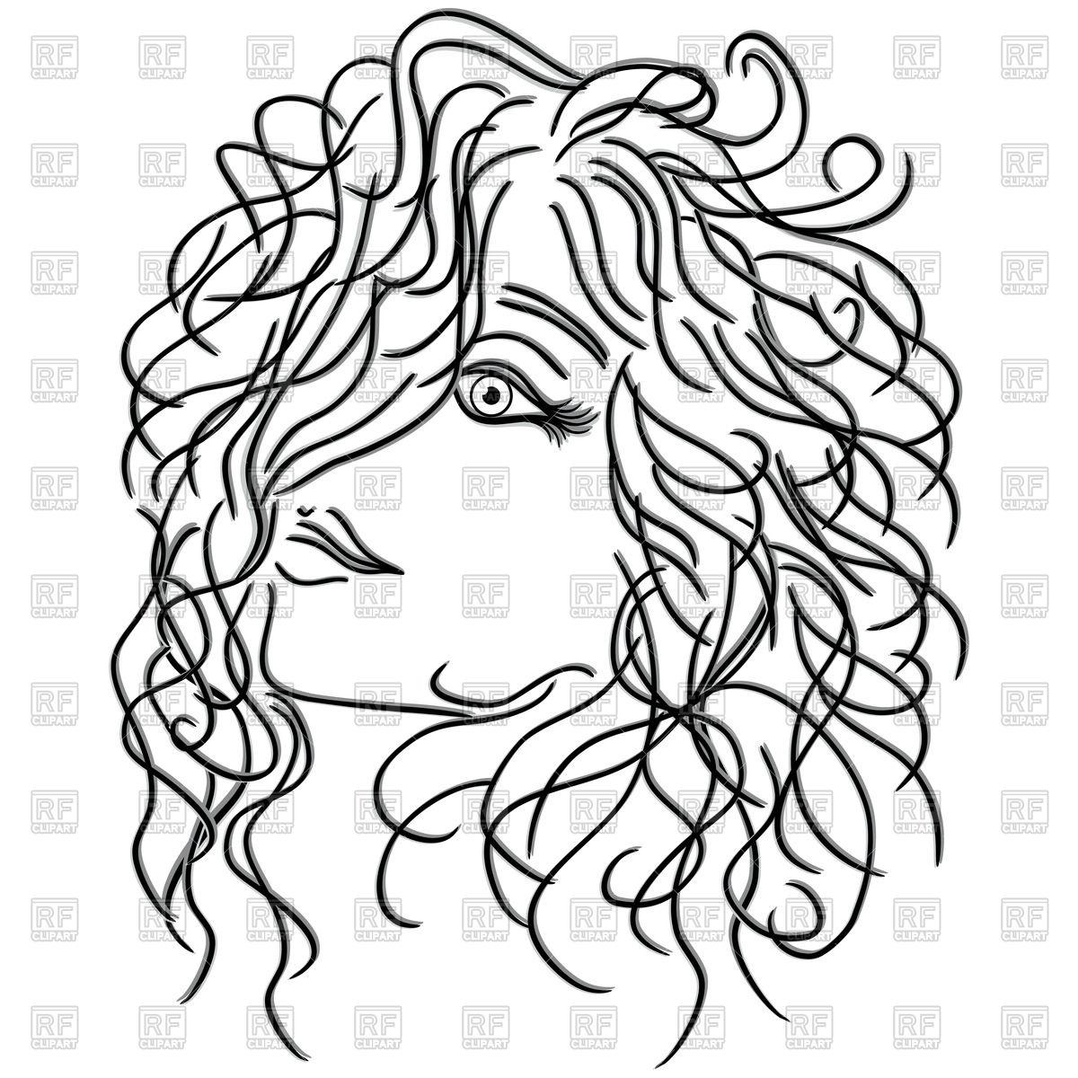 1200x1200 Drawing Short Curly Hair Girl With Short Hair (Drawingme) I Love
