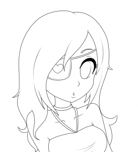 274x302 How To Draw Girl Hair, Step By Step, Anime Hair, Anime, Draw
