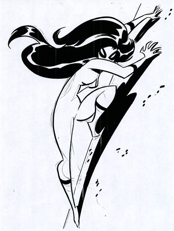 564x745 Drawing Spider Woman, Bruce Timm Style Quantum Multiverse