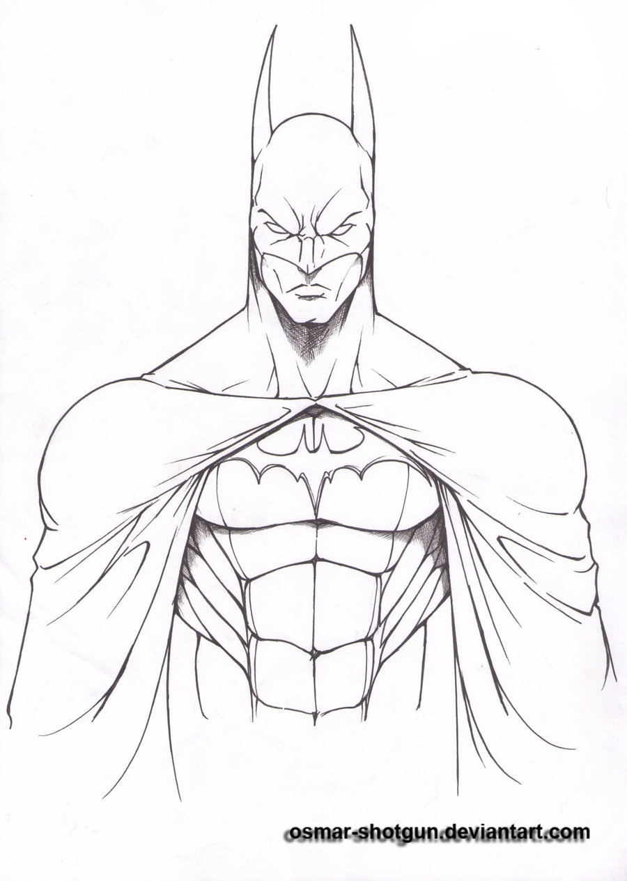 900x1265 Batman Drawing In Pencil Easy Batman Drawings Batman Line
