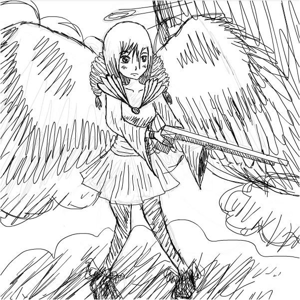 601x601 Angel With A Shotgun
