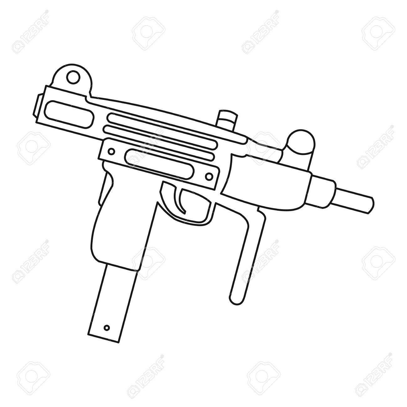 shotgun line drawing at getdrawings com