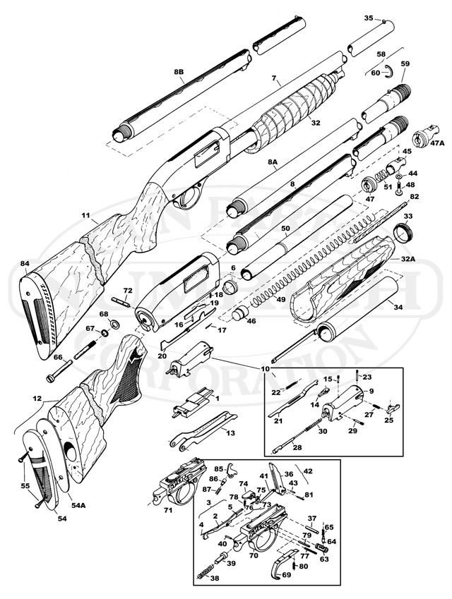 Shotgun Line Drawing At Getdrawings Com