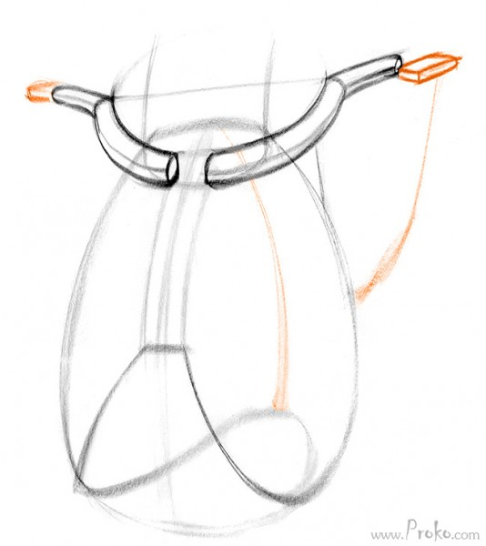 534x600 How To Draw The Shoulder Bones Proko