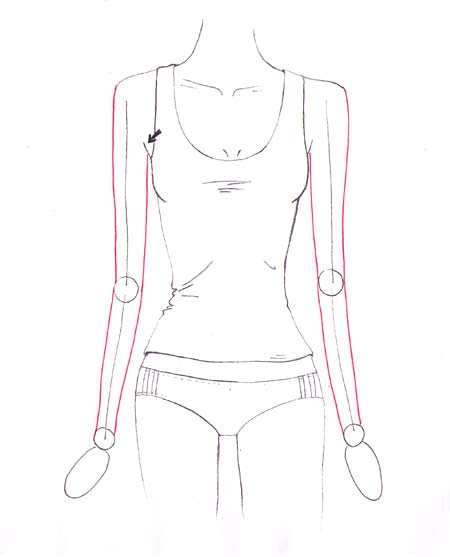 450x557 How To Draw Shoulders And Arms Drawing Inspiration