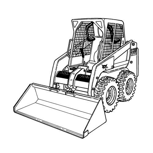 500x500 Bulldozer Mecanic Shovel