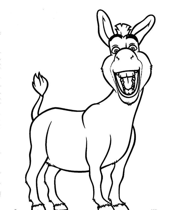 shrek donkey drawing at getdrawings com free for personal use