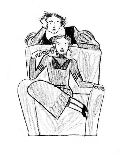 500x642 Shrew Illustration Tumblr