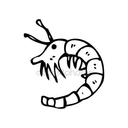 450x450 Shrimp Cartoon Stock Vector Lineartestpilot
