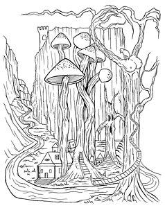 238x300 Shrooms Drawings