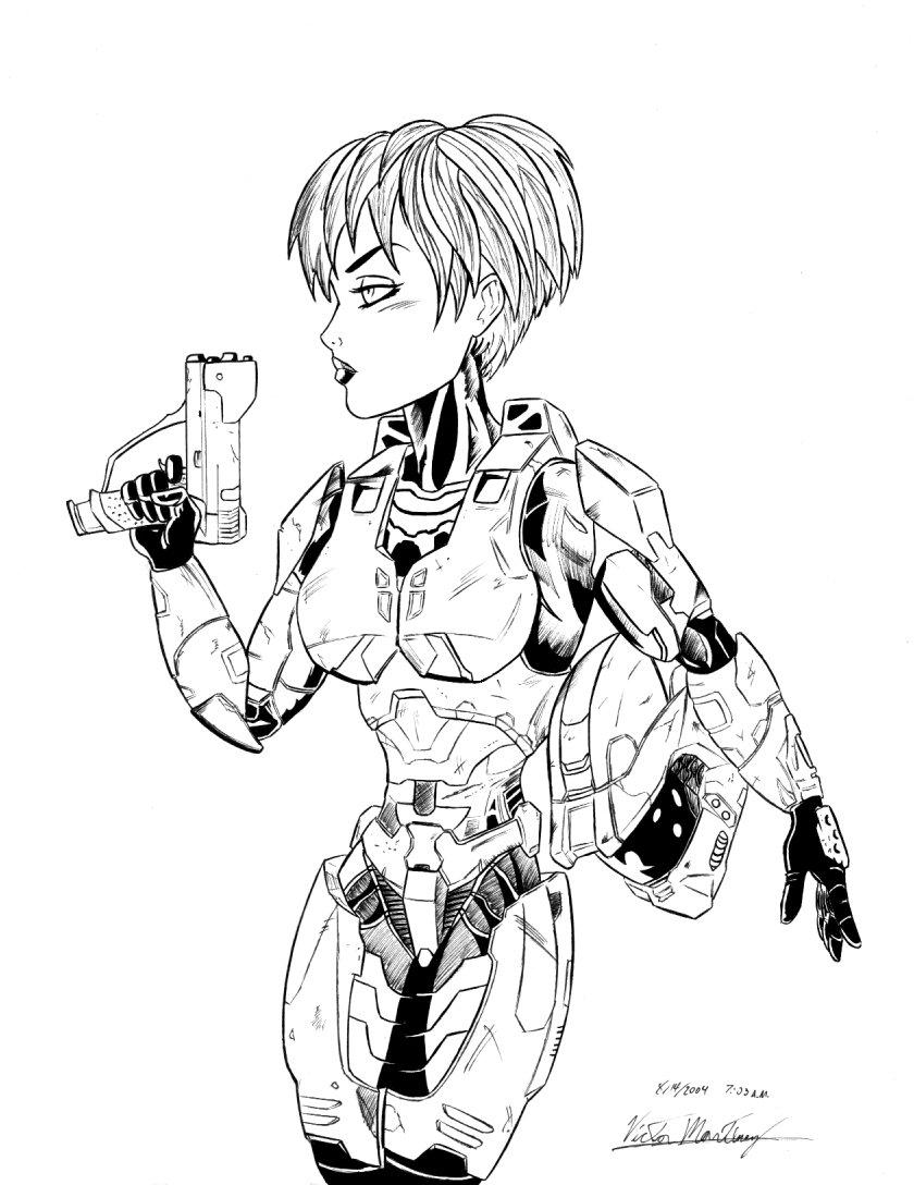 840x1088 Dot In Mark Vi Spartan Armor By Vic N Shrooms
