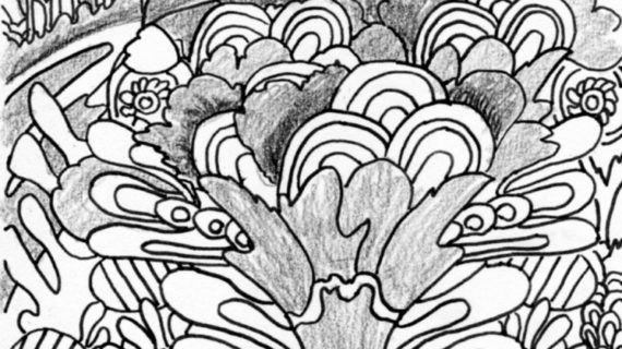 570x320 Easy Trippy Drawings Draw Shrooms Shrooms Step Step Drawing Sheets