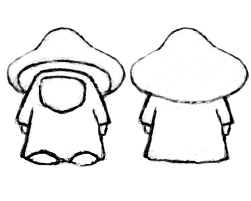 500x400 Fan Shrooms Concept Drawing By Imvu Whystler