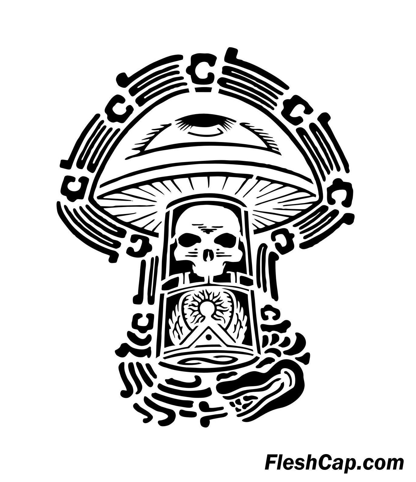 1372x1588 Graffiti Mushroom Drawings How To Draw Shrooms, Shrooms, Step By